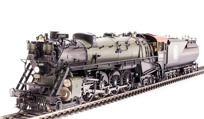 Rinnova in ottone Hybrid GREAT Northern S2 484 loco con vestibul Cabina & Fumo  2587 NUOVO IN SCATOLA