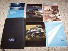 2007 Ford F-150 Truck Owner Manual User Guide XL XLT STX FX4 Lariat Supercrew