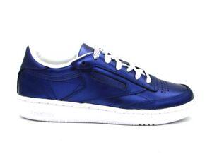Club Cm8687 Blu Metallic C Shine Bianco S 85 Reebok Sneakers dnqACwpd