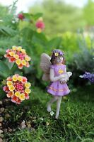 Fairy Willow Carrying A Bunny Dollhouse Miniature Garden Faerie 36