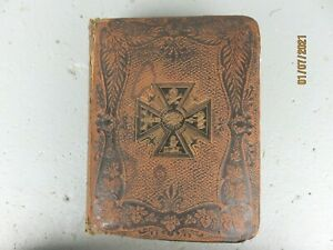 Antique-Holy-Bible-1891Mound-city-council-6-Large-Hardcover-1000-Illustration