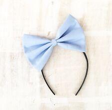 Pastel light blue large bow headband Kawaii Pin up girl