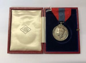 Imperial Service Medal to Henry Hartley, in box of issue (John Pinches)