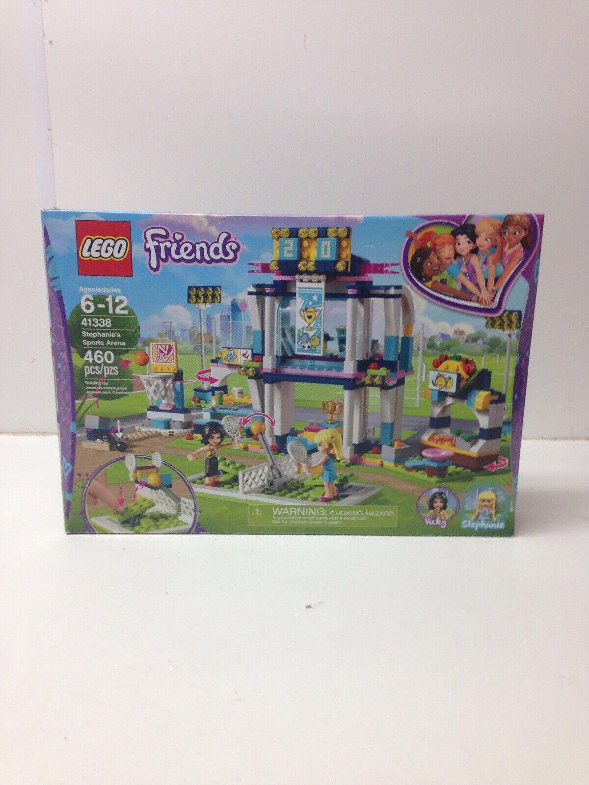 Lego Friends Stephanie's Sports Arena  41338 - 460 piezas (NIB)