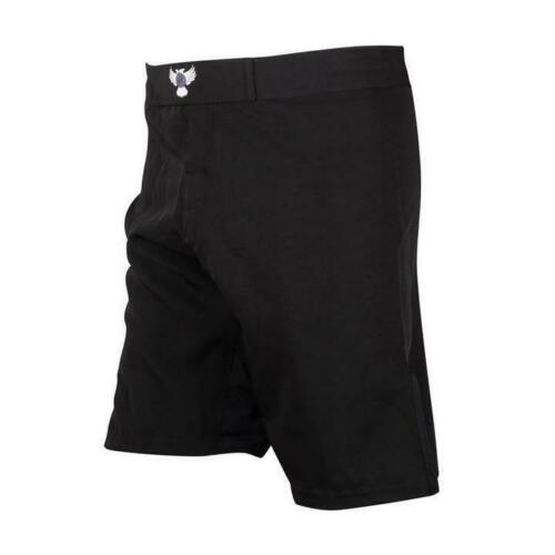 Regular Length Raven Plain BJJ//MMA Fight Shorts