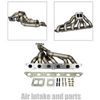 Hp-series Supra 7mgte Jza70 Stainless Equal Length T4 Top Mount Turbo Manifold