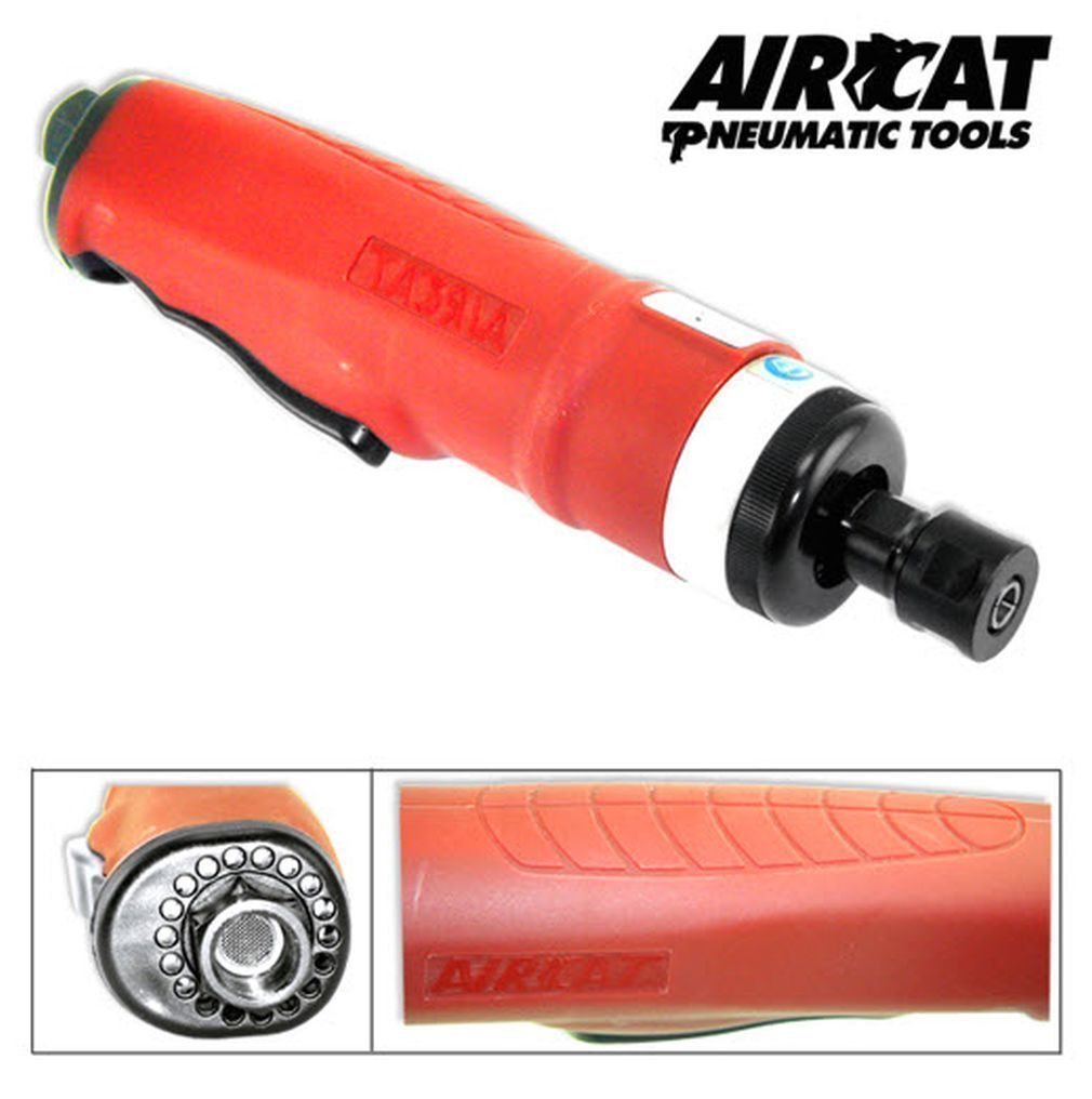 R 10635 AIRCAT -Die Grinder AirCat 6201R Straight Composite. Available Now for 94.40