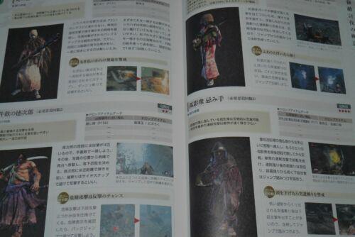 Shadows Die Twice Official Guide Book JAPAN Sekiro