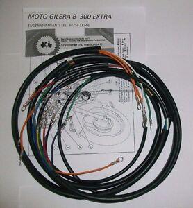 Schema Elettrico Wiring Diagram : Impianto elettrico electrical wiring moto gilera b extra