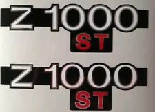 KAWASAKI Z1000ST - KZ1000ST SIDE PANEL DECAL KIT