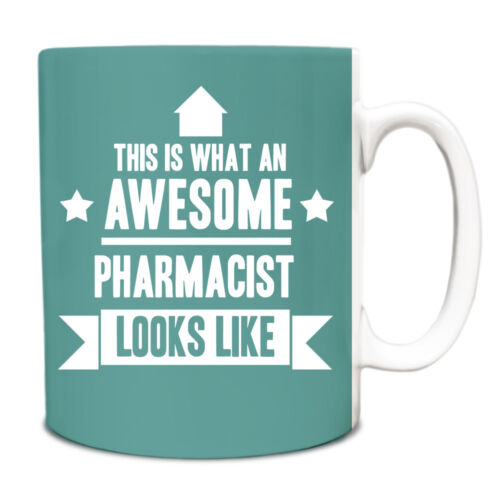 This is what an AWESOME Pharmacist Looks like Mug Gift idea coffee cup 152
