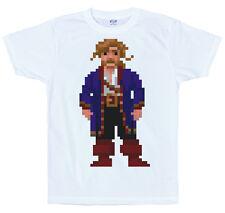 Guybrush Threepwood T Shirt, pixel, secret of monkey island, 8-bit, retro game
