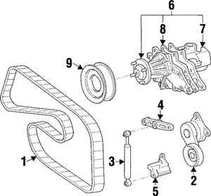 Genuine Toyota Absorber Upper Bracket 16622-46010