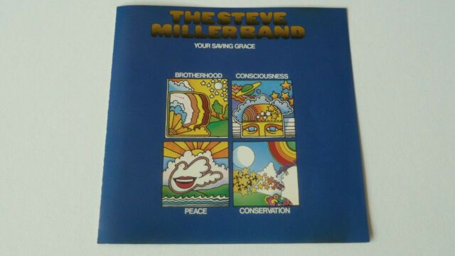 THE STEVE MILLER BAND:YOUR SAVING GRACE CD ALBUM 1990 US REISSUE CAPITOL.RARE