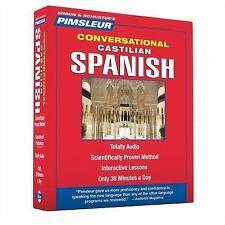 PIMSLEUR Learn to Speak SPANISH CASTILIAN Language 8 CDs NEW!!