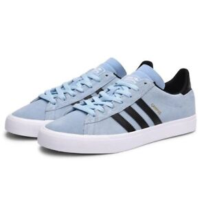 Details about adidas campus Vulc Adv Skateboarding Sky Blue Gazelle style