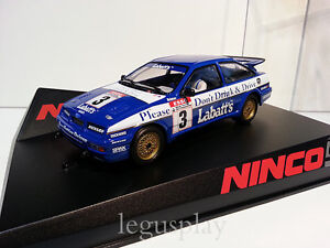 SCX-Scalextric-Slot-Ninco-50635-Ford-Sierra-Labatt-039-s-New