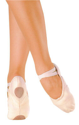 So Danca BA18 Split Sole Canvas Dancewear Ballet Shoes Flats Pink Big Kids Girls