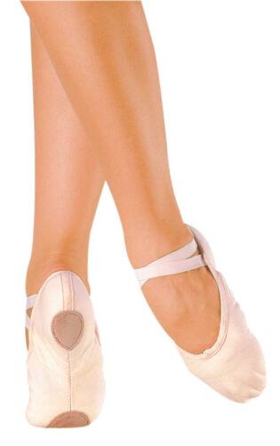 Split Sole NIB Large Sizes SO DANCA BA18 Canvas Ballet Shoes Adult Pink
