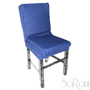 Chair-Covers-Cushion-Clothes-Chair-Elastic-Band-Padded-Various-Colors-Cotton