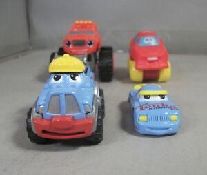 Tonka-Trucks-amp-Cars-Die-Cast-Metal-Vehicle-Toys-Lot-of-4