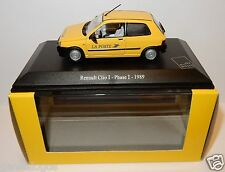 UH UNIVERSAL HOBBIES RENAULT CLIO I PHASE I 1989  POSTES POSTE PTT 1/43 LUXE BOX