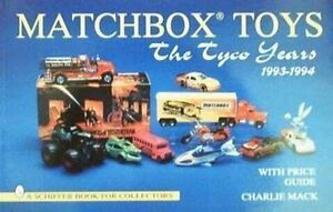 BOOK-LIVRE-MATCHBOX-TOYS-The-Tyco-Years-1993-1994