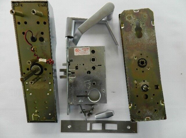 Onity Vingcard Used Saflok MT Series Hotel Lock Satin Chrome Silver