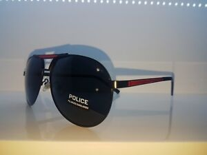 Details about Brand New Police Black & Red Sunglasses 2019