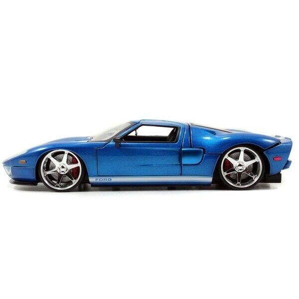 Jada Fast et Furious Original 1 24 24 24 Ford GT Diecast Voiture Modèle Rare NEW 9a53c3