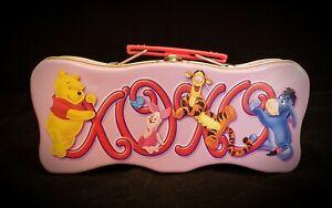 Winnie-The-Pooh-amp-Friends-Tin-Tote-9-x-4-25-x-2-5-034