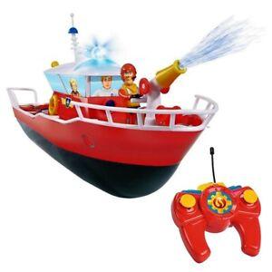 Marque Populaire Rc Bateau Fireboat Titan | Sam Le Pompier | Avec Lumière & L'eau Pulvérisée Vous Garder En Forme Tout Le Temps