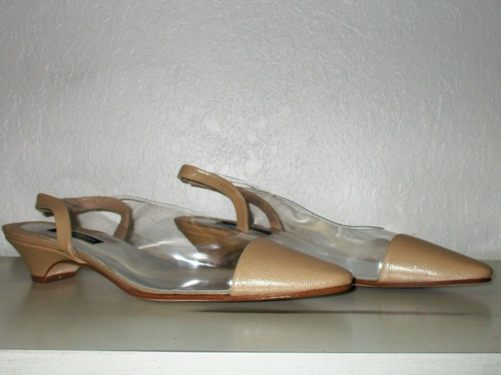 Susan van der Linde Lucite Heel-Größe 39.5-France-Beautiful