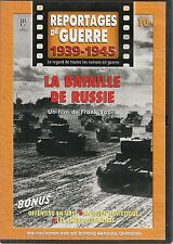 DVD REPORTAGE DE GUERRE 1939-1945 N° 10--BATAILLE DE RUSSIE/CHARS ALLEMANDS/URSS