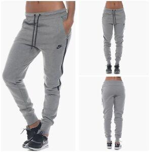 Nike Ladies Tech Fleece Jogging Pants 683800 091 U K Size Large Ebay
