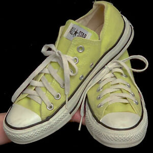 edullinen hinta outlet putiikki erityinen tarjous Details about Converse All Star Chuck Taylor shoes lime green sz 8 women's  (6 mens) Indonesia