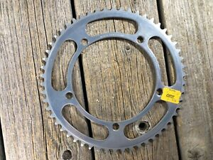 VINTAGE-BIKE-BICYCLE-SUGINO-CHAINRING-MIGHTY-COMPETITION-54T-144-BCD-144-MM-NOS