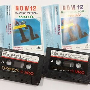 NOW-THATS-WHAT-I-CALL-MUSIC-12-THOMSUN-IMPORT-DOUBLE-CASSETTE-TAPE-ALBUM-1988
