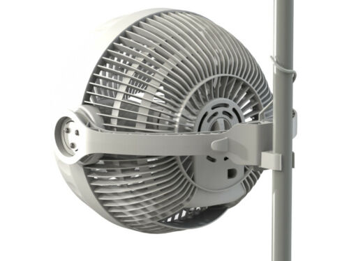 Adatto per tutte le Grow Box Facile da Montare Ventilatore Clip Monkey Fan