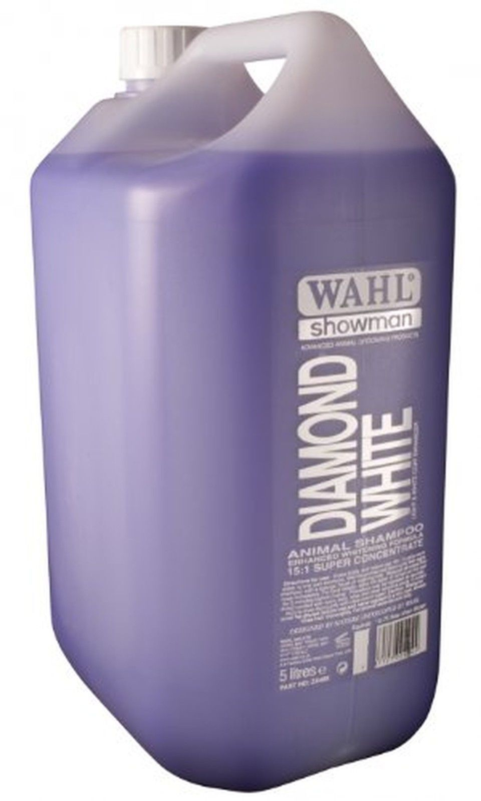 WAHL 5L SUPER CONCENTRATED ANIMAL HORSE SHAMPOO & CONDITIONER ALL COLOUR TYPES