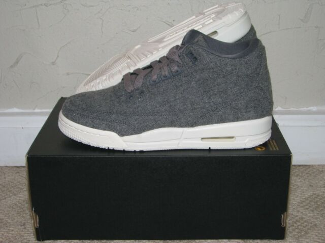 2016 Kids DS Air Jordan 3 Retro Wool 861427 004 Youth GS OG 4 7y in Hands Bred 4