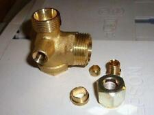 Valve Of Restraint Compressor 1/'/' Male 3//4 Male Bicone ABAC Original