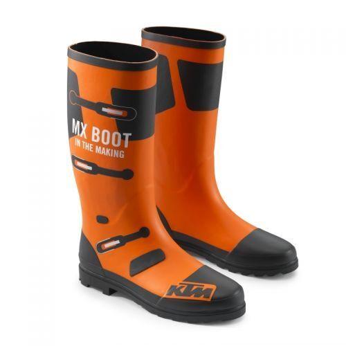 Original KTM Rubber Boots / Gummistiefel Gr. 43/ 44
