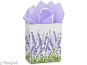 Lavender-Fields-Recycled-Paper-Shopping-Gift-Bags-Set-of-2