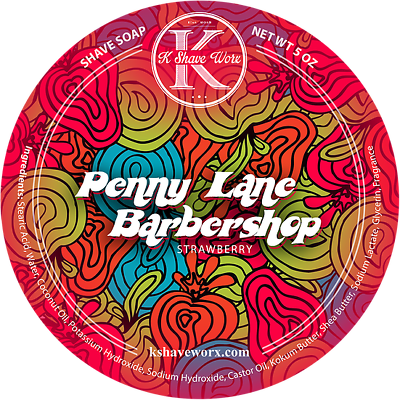 Shave Soap 5 Oz Capable K Shave Worx Fast Shipping Hot Sale 50-70% OFF New Penny Lane Barbershop