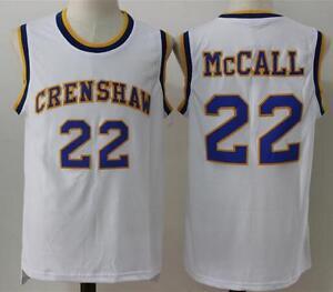 d02f1828292 Love and Basketball Quincy McCall 22 Crenshaw High School Basketball ...