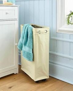 Bathroom Laundry Bin Slimline Basket