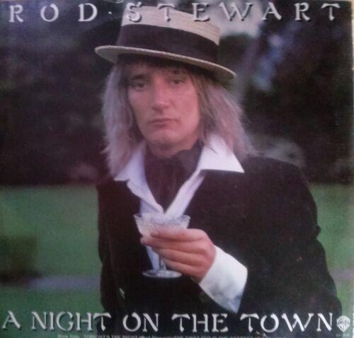 1 of 1 - ROD STEWART - NIGHT ON THE TOWN VINYL LP AUSTRALIA