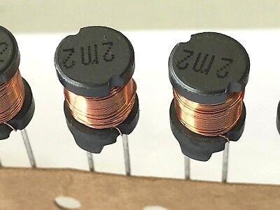 10/% Inductor Gurt 2,8R Induktivität 2m2 2,2mH Drossel 6 Stück