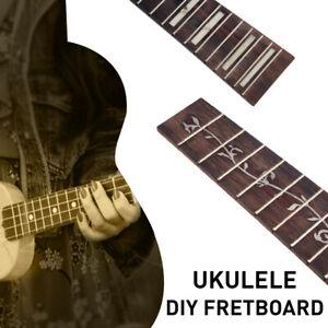 Rosewood-Ukulele-Fingerboard-Shell-Inlay-Fretboard-For-Acoustic-Folk-Ukulele-DIY